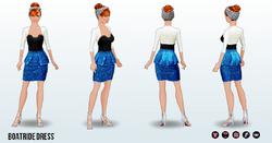 UnderseaSpin - Boatride Dress