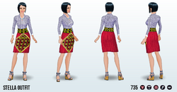 FashionWeekSpin - Stella Outfit