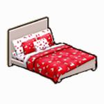 ValentinesDayDecor - Valentine Bed