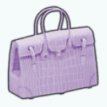 MayDaySpin - French Lavender Purse