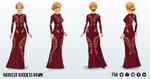 VineyardHarvestSpin - Harvest Goddess Gown