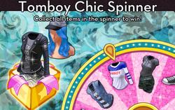 BannerSpinner - TomboyChic