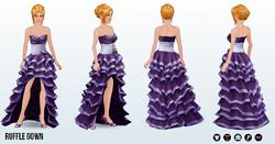 GrandGala - Ruffle Gown