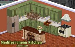 Mediterranean Kitchen Decor Collection