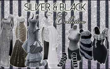 BannerCollection - SilverAndBlack