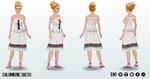 Nutcracker - Columbine Dress