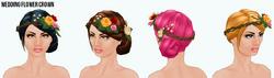 SummerWedding - Wedding Flower Crown