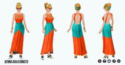 Venice - Jenna Maxi Dress