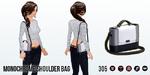WinterAccesoriesSpin - Monochrome Shoulder Bag