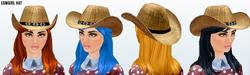 Cowgirls - Cowgirl Hat