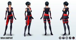 Halloween2013 - Ninja Jumpsuit