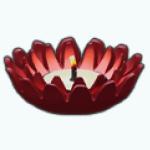 Diwali - Lotus Candle