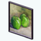 GreenAddictDecor - Green Apples Painting