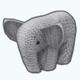 KnittingShow - Elephant Knit Toy