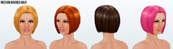Basic - Medium Bobbed Hair