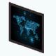 GlitterPhoneMystery - Digital World Map