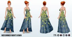 MidsummerNightsDreamSpin - Midsummer Nights Gown