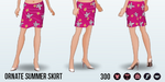 RoadTrip - Ornate Summer Skirt