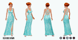SpringBreak - Seaside Gown