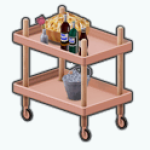 SummerMovieNightSpin - Refreshment Cart