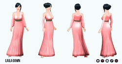 ArabianNights - Laila Gown