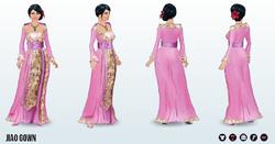 ChineseNewYearSpin - Jiao Gown
