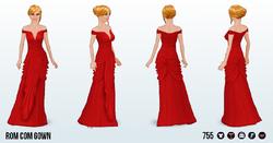 SummerMovieNightSpin - Rom Com Gown