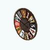 IndustrialLoftKitchenDecor - Big Wall Clock