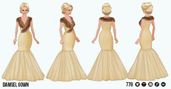 HollywoodGlamour - Damsel Gown