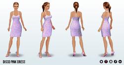PinkAndPretty - Disco Pink Dress