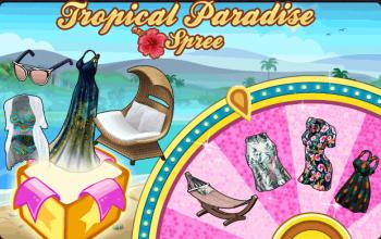BannerSpinner - TropicalParadise