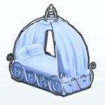 IceCastleDecor - Princess Bed