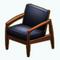 ModernOrganicDecor - Danish Leather Chair