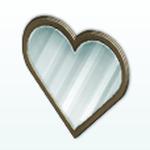 ValentinesDayDecor - Heart Mirror