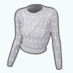 ChillyEssentialsSpin - Cropped Dotty Sweatshirt