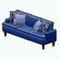 NewEnglandDecor - New England Piped Sofa
