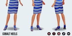 SpringBreak - Cobalt Heels