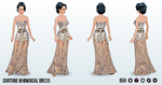 MusicInAMansion - Couture Whimsical Dress
