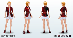 GameNight - Cozy Cafe Outfit