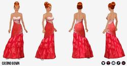 EscapeToVegas - Casino Gown