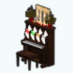 HollyDaysSpin - Piano Mantle