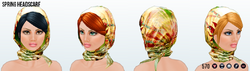 SpringIsComing - Spring Headscarf