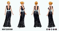 SpringRunway - Nightclub Gown