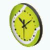 TennisCelebrationDay - Tennis Ball Clock