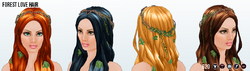 MidsummerNightsDreamSpin - Forest Love Hair