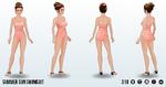 HeatAttack - Summer Sun Swimsuit