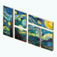 MuseumNight - Starry Night Composite