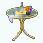 SummerRomanceSpin - Summer Bistro Table