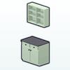 MintGreenDecor - Mint Kitchen Cabinet