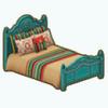 NocheCalienteDecor - Santa Fe Bed